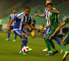 Moshtagh Yaghoubi of HJK Helsinki during third round qualifiers match for Europa League between NK Olympija and HJK Helsinki. Third round qualifiers match for Europa League between NK Olympija and HJK Helsinki was played on Thursday, 9th of August 2018 in Stozice arena in Ljubljana, Slovenia