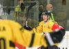 Scorer Miikka Pitkanen (Kalpa Kuopio) during the Champions Hockey League match between UPC Vienna Capitals and Kalpa Kuopio at the Albert Schultz Arena, Vienna, Austria on 2016/09/11.