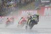 Valentino Rossi (ITA) Movistar Yamaha MotoGP, Dani Pedrosa (SPA) Repsol Honda Team, Marc Marquez (SPA) Repsol Honda Team during the MotoGP Motul TT Assen at the TT Circuit in Assen, Netherlands on 2016/06/26.
