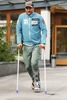 The Norwegian ski racer Axel Lund Svindal during press conference Hotel Vier Jahreszeiten in St. Leonhard im Pitztal, Austria on 2014/10/20, after he ruptured Achilles and had to withdrawn from ski racing this season.