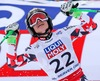 Anna Fenninger (AUT, Goldmedaille) winner of the gold Medal Anna Fenninger of Austria reacts after her run of the ladies Super G of FIS Ski World Championships 2015 at the Raptor Course in Beaver Creek, United States on 2015/02/03.