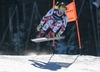 Marcel Hirscher of Austria in action during the men Downhill for the Combined of FIS Ski World Championships 2015 at the Birds of Prey Course in Beaver Creek, United States on 2015/02/08.