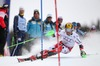 Marcel Hirscher of Austria in action during the 1st run of men Slalom of FIS Ski World Championships 2015 at the Birds of Prey Course in Beaver Creek, United States on 2015/02/15.