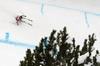 Kjetil Jansrud of Norway skiing in second training run for the men downhill race of Audi FIS Alpine skiing World cup in Garmisch-Partenkirchen, Germany. Second training for men downhill race of Audi FIS Alpine skiing World cup season 2014-2015, was held on Friday, 27th of February 2015 in Garmisch-Partenkirchen, Germany.
