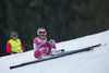 Ragnhild Mowinckel of Norway crashes during the ladies Downhill of Garmisch FIS Ski Alpine World Cup at the Kandahar course in Garmisch Partenkirchen, Germany on 2016/02/06.