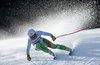 Edit Miklos of Hungary competes during the ladies Downhill of Garmisch FIS Ski Alpine World Cup at the Kandahar course in Garmisch Partenkirchen, Germany on 2016/02/06.