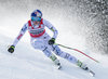 Winner Lindsey Vonn of the USA competes during the ladies Downhill of Garmisch FIS Ski Alpine World Cup at the Kandahar course in Garmisch Partenkirchen, Germany on 2016/02/06.