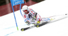 Thomas Fanara of France skiing in the first run of the men giant slalom race of Audi FIS Alpine skiing World cup in Hinterstoder, Austria. Men giant slalom race of Audi FIS Alpine skiing World cup, was held on Hinterstoder, Austria, on Friday, 26th of February 2016.