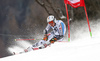 Stefan Luitz of Germany skiing in the first run of the men giant slalom race of Audi FIS Alpine skiing World cup in Hinterstoder, Austria. Men giant slalom race of Audi FIS Alpine skiing World cup, was held on Hinterstoder, Austria, on Friday, 26th of February 2016.