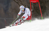 Carlo Janka of Switzerland skiing in the first run of the men giant slalom race of Audi FIS Alpine skiing World cup in Hinterstoder, Austria. Men giant slalom race of Audi FIS Alpine skiing World cup, was held on Hinterstoder, Austria, on Friday, 26th of February 2016.