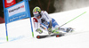 Justin Murisier of Switzerland skiing in the first run of the men giant slalom race of Audi FIS Alpine skiing World cup in Hinterstoder, Austria. Men giant slalom race of Audi FIS Alpine skiing World cup, was held on Hinterstoder, Austria, on Friday, 26th of February 2016.