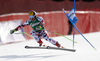 Third placed Marcel Hirscher of Austria skiing in the men super-g race of Audi FIS Alpine skiing World cup in Hinterstoder, Austria. Men super-g race of Audi FIS Alpine skiing World cup, was held on Hinterstoder, Austria, on Saturday, 27th of February 2016.