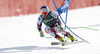 Fourth placed Vincent Kriechmayr of Austria skiing in the men super-g race of Audi FIS Alpine skiing World cup in Hinterstoder, Austria. Men super-g race of Audi FIS Alpine skiing World cup, was held on Hinterstoder, Austria, on Saturday, 27th of February 2016.