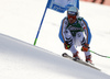 Andreas Sander of Germany skiing in the men super-g race of Audi FIS Alpine skiing World cup in Hinterstoder, Austria. Men super-g race of Audi FIS Alpine skiing World cup, was held on Hinterstoder, Austria, on Saturday, 27th of February 2016.