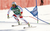 Beat Feuz of Switzerland skiing in the men super-g race of Audi FIS Alpine skiing World cup in Hinterstoder, Austria. Men super-g race of Audi FIS Alpine skiing World cup, was held on Hinterstoder, Austria, on Saturday, 27th of February 2016.