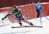 Marcel Hirscher of Austria skiing in the men super-g race of Audi FIS Alpine skiing World cup in Hinterstoder, Austria. Men super-g race of Audi FIS Alpine skiing World cup, was held on Hinterstoder, Austria, on Saturday, 27th of February 2016.