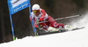 Kjetil Jansrud of Norway skiing in the first run of the men giant slalom race of Audi FIS Alpine skiing World cup in Hinterstoder, Austria. Men giant slalom race of Audi FIS Alpine skiing World cup, was held in Hinterstoder, Austria, on Sunday, 28th of February 2016.