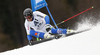 Andre Myhrer of Sweden skiing in the first run of the men giant slalom race of Audi FIS Alpine skiing World cup in Hinterstoder, Austria. Men giant slalom race of Audi FIS Alpine skiing World cup, was held in Hinterstoder, Austria, on Sunday, 28th of February 2016.