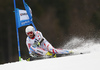 Thomas Fanara of France skiing in the men giant slalom race of Audi FIS Alpine skiing World cup in Hinterstoder, Austria. Men giant slalom race of Audi FIS Alpine skiing World cup, was held in Hinterstoder, Austria, on Sunday, 28th of February 2016.