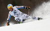 Felix Neureuther of Germany skiing in the men giant slalom race of Audi FIS Alpine skiing World cup in Hinterstoder, Austria. Men giant slalom race of Audi FIS Alpine skiing World cup, was held in Hinterstoder, Austria, on Sunday, 28th of February 2016.