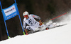Stefan Luitz of Germany skiing in the men giant slalom race of Audi FIS Alpine skiing World cup in Hinterstoder, Austria. Men giant slalom race of Audi FIS Alpine skiing World cup, was held in Hinterstoder, Austria, on Sunday, 28th of February 2016.