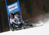 Marcus Sandell of Finland skiing in the men giant slalom race of Audi FIS Alpine skiing World cup in Hinterstoder, Austria. Men giant slalom race of Audi FIS Alpine skiing World cup, was held in Hinterstoder, Austria, on Sunday, 28th of February 2016.