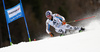 Fritz Dopfer of Germany skiing in the men giant slalom race of Audi FIS Alpine skiing World cup in Hinterstoder, Austria. Men giant slalom race of Audi FIS Alpine skiing World cup, was held in Hinterstoder, Austria, on Sunday, 28th of February 2016.