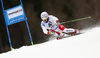 Carlo Janka of Switzerland skiing in the men giant slalom race of Audi FIS Alpine skiing World cup in Hinterstoder, Austria. Men giant slalom race of Audi FIS Alpine skiing World cup, was held in Hinterstoder, Austria, on Sunday, 28th of February 2016.