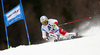 Gino Caviezel of Switzerland skiing in the men giant slalom race of Audi FIS Alpine skiing World cup in Hinterstoder, Austria. Men giant slalom race of Audi FIS Alpine skiing World cup, was held in Hinterstoder, Austria, on Sunday, 28th of February 2016.