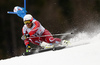 Kjetil Jansrud of Norway skiing in the men giant slalom race of Audi FIS Alpine skiing World cup in Hinterstoder, Austria. Men giant slalom race of Audi FIS Alpine skiing World cup, was held in Hinterstoder, Austria, on Sunday, 28th of February 2016.