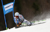 Dominik Schwaiger of Germany skiing in the men giant slalom race of Audi FIS Alpine skiing World cup in Hinterstoder, Austria. Men giant slalom race of Audi FIS Alpine skiing World cup, was held in Hinterstoder, Austria, on Sunday, 28th of February 2016.