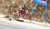 Philipp Schoerghofer of Austria skiing in the first run of the men giant slalom race of Audi FIS Alpine skiing World cup in Kranjska Gora, Slovenia. Men giant slalom race of Audi FIS Alpine skiing World cup, was held in Kranjska Gora, Slovenia, on Friday, 4th of March 2016.