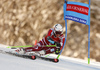 Henrik Kristoffersen of Norway skiing in the first run of the men giant slalom race of Audi FIS Alpine skiing World cup in Kranjska Gora, Slovenia. Men giant slalom race of Audi FIS Alpine skiing World cup, was held in Kranjska Gora, Slovenia, on Friday, 4th of March 2016.