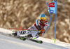 Felix Neureuther of Germany skiing in the first run of the men giant slalom race of Audi FIS Alpine skiing World cup in Kranjska Gora, Slovenia. Men giant slalom race of Audi FIS Alpine skiing World cup, was held in Kranjska Gora, Slovenia, on Friday, 4th of March 2016.