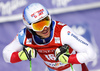Carlo Janka of Switzerland reacts in finish of the second run of the men giant slalom race of Audi FIS Alpine skiing World cup in Kranjska Gora, Slovenia. Men giant slalom race of Audi FIS Alpine skiing World cup, was held in Kranjska Gora, Slovenia, on Friday, 4th of March 2016.