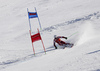 Henrik Kristoffersen of Norway skiing in the second run of the men giant slalom race of Audi FIS Alpine skiing World cup in Kranjska Gora, Slovenia. Men giant slalom race of Audi FIS Alpine skiing World cup, was held in Kranjska Gora, Slovenia, on Friday, 4th of March 2016.