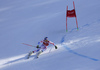 Alexis Pinturault of France skiing in the second run of the men giant slalom race of Audi FIS Alpine skiing World cup in Kranjska Gora, Slovenia. Men giant slalom race of Audi FIS Alpine skiing World cup, was held in Kranjska Gora, Slovenia, on Friday, 4th of March 2016.