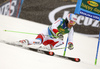 Carlo Janka of Switzerland skiing in the first run of the men giant slalom race of Audi FIS Alpine skiing World cup in Kranjska Gora, Slovenia. Men giant slalom race of Audi FIS Alpine skiing World cup, was held in Kranjska Gora, Slovenia, on Saturday, 5th of March 2016.