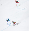 Carlo Janka of Switzerland skiing in the second run of the men giant slalom race of Audi FIS Alpine skiing World cup in Kranjska Gora, Slovenia. Men giant slalom race of Audi FIS Alpine skiing World cup, was held in Kranjska Gora, Slovenia, on Saturday, 5th of March 2016.