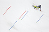 Fritz Dopfer of Germany skiing in the second run of the men slalom race of Audi FIS Alpine skiing World cup in Kranjska Gora, Slovenia. Men slalom race of Audi FIS Alpine skiing World cup, was held in Kranjska Gora, Slovenia, on Sunday, 6th of March 2016.