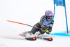 Tessa Worley of France in action during 1st run of ladies giant slalom of FIS ski alpine world cup at the Killington, Austria on 2016/11/26.