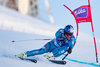 Second placed Aksel Lund Svindal of Norway in action during the race of men SuperG of the Val dIsere FIS Ski Alpine World Cup. Val dIsere, France on 2016/02/12.