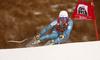 Winner Kjetil Jansrud of Norway skiing in the men super-g race of the Audi FIS Alpine skiing World cup in Val Gardena, Italy. Men super-g race of the Audi FIS Alpine skiing World cup, was held on Saslong course in Val Gardena, Italy, on Friday, 16th of December 2016.