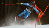 Aleksander Aamodt Kilde of Norway skiing in the men downhill race of the Audi FIS Alpine skiing World cup in Val Gardena, Italy. Men downhill race of the Audi FIS Alpine skiing World cup, was held on Saslong course in Val Gardena, Italy, on Saturday, 17th of December 2016.