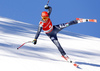 Second placed Christof Innerhofer of Italy skiing in men super-g race of the Audi FIS Alpine skiing World cup in Kitzbuehel, Austria. Men super-g race of the Audi FIS Alpine skiing World cup, was held on Hahnekamm course in Kitzbuehel, Austria, on Friday, 20th of January 2017.