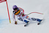 Viktoria Rebensburg of Germany in action during women SuperG of FIS Ski Alpine World Cup. St. Moritz, Switzerland on 2017/02/07.