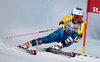 Maria Pietilae-Holmner of Sweden in action during her 1st run of women Giant Slalom of the FIS Ski World Championships 2017. St. Moritz, Switzerland on 2017/02/16.