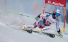 Camille Rast of Switzerland in action during her 1st run of women Giant Slalom of the FIS Ski World Championships 2017. St. Moritz, Switzerland on 2017/02/16.