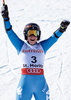 Giant Slalom Bronze medalist Sofia Goggia of Italy reacts after her 2nd run of women Giant Slalom of the FIS Ski World Championships 2017. St. Moritz, Switzerland on 2017/02/16.