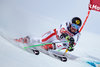 Marcel Hirscher of Austria in action during his 1st run of men Giant Slalom of the FIS Ski World Championships 2017. St. Moritz, Switzerland on 2017/02/17.